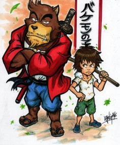 The Boy And The Beast by Djiguito