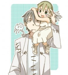 The creepy thing is that Stein looks more like Maka then her dad