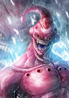 The Evil Buu by Dragolisco on DeviantART
