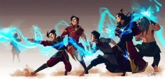 The Four Elements Specialized | by Ctreuse109 | Fire | Lightningbending | The Last Airbender | Legend of Korra | Avatar