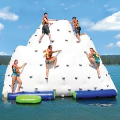 The Gigantic Inflatable Climbing  would be awesome for the lake this summer!!!!!