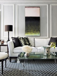 The high contrasts between items appeals to me. Eclectic | Living Rooms | David Bromstad : Designer Portfolio : HGTV - Home & Garden Television