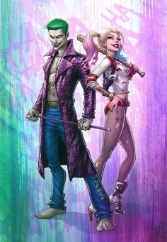 The Joker and Harley Quinn - by Patrick Brown on DeviantArt