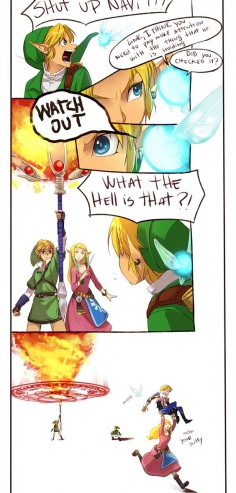 "The Legend of Zelda: Ocarina of Time, The Legend of Zelda: The Wind Waker, The Legend of Zelda: Twilight Princess (Super Smash Bros. Brawl), The Legend of Zelda: Skyward Sword, and Hyrule Warriors / Link, Princess Zelda, Zelda, Fi, Navi, and Toon Link / ""I think I'm posting this a bit late but ….I don'"" - Work by Hunter x Hunter ♥ The Legend of Zelda (5)"