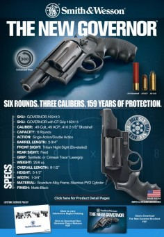 The New Smith & Wesson Governor (...and I approve this )