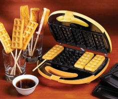 The Only Thing Better Than Waffles Are Waffles On A Stick