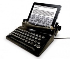 The Typescreen Turns Your Apple iPad Into A Typewriter