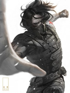 The Winter Soldier, AIDEN CHUO on ArtStation at