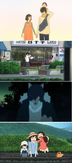 The Wolf Children by Mamoru Hosoda