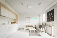 These homes make the most of their compact layouts – each one is smaller than 50 square meters in size, yet packs an abundance of unique personality. Whether