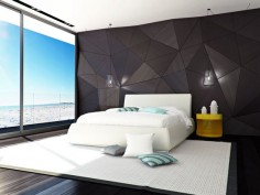 This back wall is a must for the bedroom! LOVE IT!