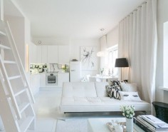 This Little Finnish Apartment Has a Really Clever Closet Solution