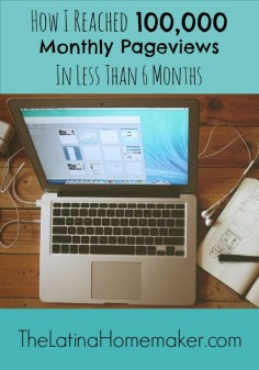 Three things I did to help my blog reach 100,000 monthly pageviews in less than 6 months.