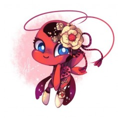 tikki is so cute!! I wouldn't mind having her hang around in my purse, she's a good conscience- one that isn't as easily ignored!