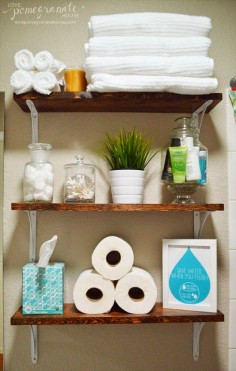 Tiny-Ass Apartment: The renter's bathroom: 6 tips for de-uglying your apartment bathroom