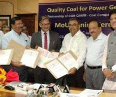 """To ensure that quality coal reaches the power generation companies, the CSIR on Tuesday signed an MoU with Coal India and NTPC to analyse the quality of coal reaching from source to user. """"This is a huge step which will ensure cheaper and more affordable power for the country,"""" Union Power Minister Piyush Goyal said here. He added that the procedure of analysis is optional for the coal   Read More"""