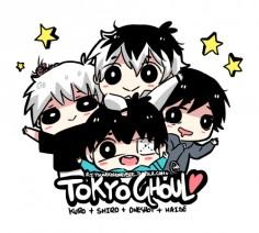 tokyo ghoul chibis