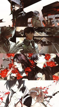Tokyo ghoul Tokyo ghoul:Re just came out and the second season is coming out in January 2015