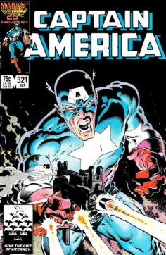 Top Five Mike Zeck Captain America Covers | Comics Should Be Good! @ Comic Book ResourcesComics Should Be Good! @ Comic Book Resources