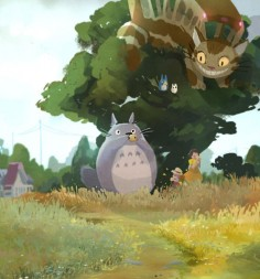 Totoro for warm-up