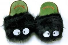 Totoro Ghibli Dust Bunny Slippers