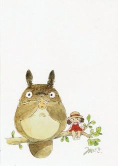 Totoro & Mei