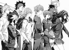 """"""" Totsuki Elite Ten Council minus Nakiri Erina"""" shokugeki no soma #mangacap"""