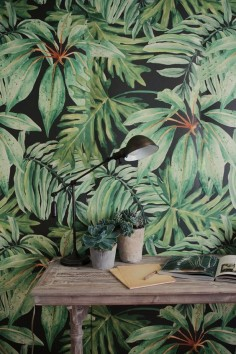 Tropical interior design