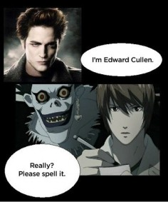 twlight meme comic death note