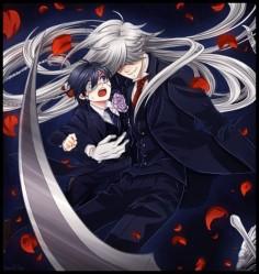 Undertaker and Ciel | Kuroshitsuji - Black Butler #Anime ☆by VermeilleRose