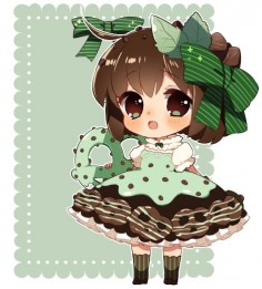 UPDATE:: added BG ;v; actually the lace is from my adopts! XD;;;to lazy to make a new one Based off of these goodies! TvT////// people voted on the poll, so I randomly picked mint