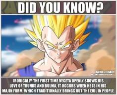 Vegeta fact