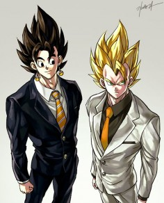 Vegetto and Gogeta