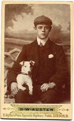 vintage jack russell photo