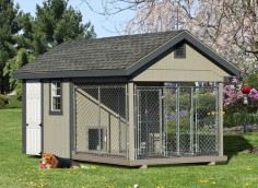 We have kennels for 1 dog to 8+ Completely customizable.  Tons of options and upgrades.  Visit our website to view layouts.  NOT a DIY!  Delivered fully-assembled anywhere in the Continental US.  Financing available!