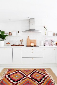 we're loving the rug and minimal details!