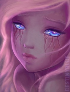 What if tears left scars?