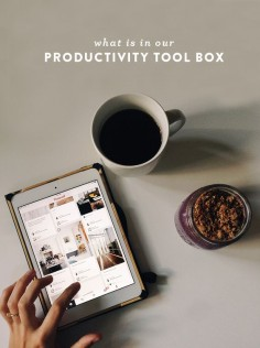 What is in Our Productivity Tool Box - The Fresh Exchange