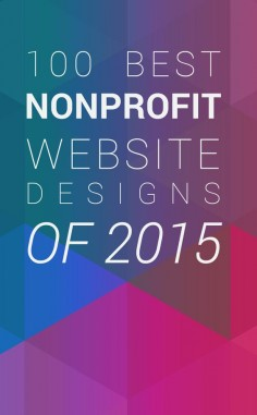 What makes a good nonprofit website? That's a question with more than 100 answers. But this list is definitely a good start. Check out the 100 Best Designed Nonprofit Websites of 2015.
