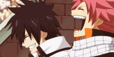 "When Erza challenged all 100 monsters. Gray and Natsu ""LOL GUYS THEY'RE SO SCREWED"""