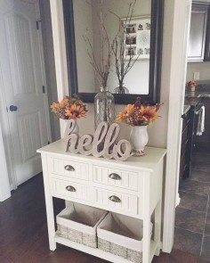White Beadboard Console Table in Kitchen | Kirkland's