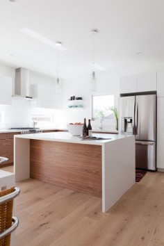 white oak floors. Mar Vista Remodel: The Play By Play — Veneer Designs
