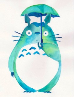 Why is Totoro so cute?!