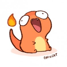 Wiggly and Overly Enthusiastic Charmander GIF