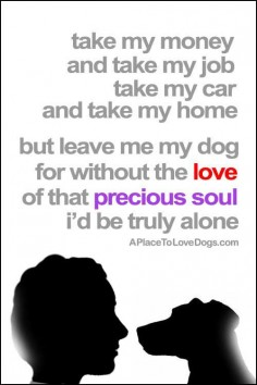 Without My Dog