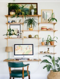 Work. Office. Desk Wall Unit