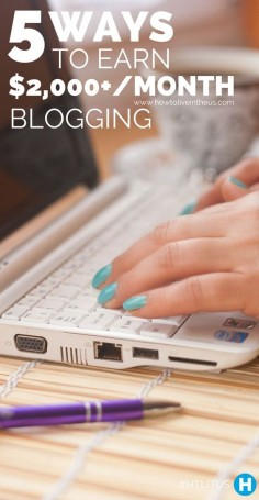 Writing articles for your own blog can be so much fun! Up until a year ago, I didn't even know you could make money by blogging. Not only am I earning close to $2,000, but I'll show you how you can do this too!