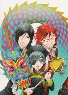 Yana Toboso, Square Enix, A-1 Pictures, Kuroshitsuji, Black Butler Artworks 2