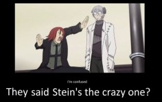 Yeah, you see… Stein is crazy, but Spirit is a father.
