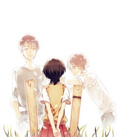 Zankyou no Terror, fan art: Terroristic Trio